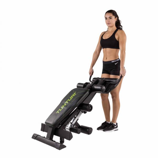 Posilovací lavice na břicho Tunturi CT80 Core Trainer cvik 1g