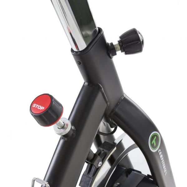 Cyklotrenažér Tunturi S40 Spinner Bike Competence regulátor odporu