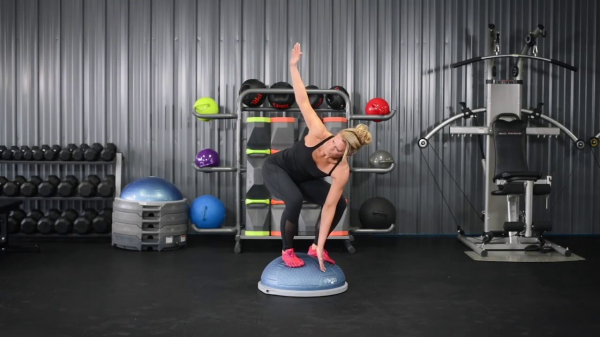 BOSU ® NEXGEN Pro Balance Trainer workout 2