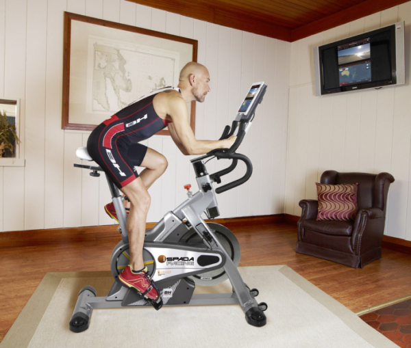 Cyklotrenažér Bh Fitness i.Spada racing promo