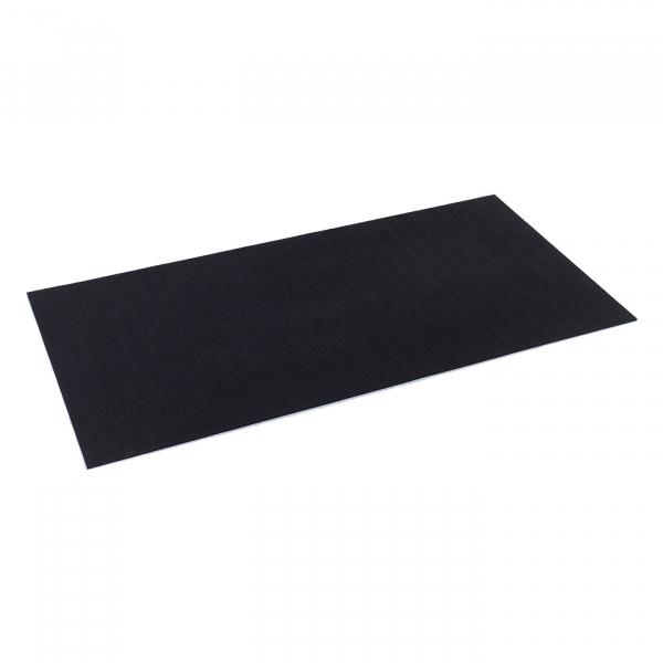 TRINFIT Sportovní gumová podlaha do fitness_deska_200_100_černág