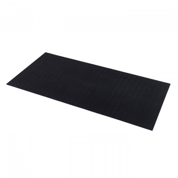 TRINFIT Sportovní gumová podlaha do fitness_deska_200_100_černá_02g