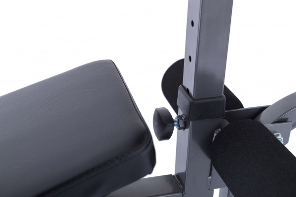 Posilovací lavice na jednoručky TRINFIT Vario LX4 nastavení biceps