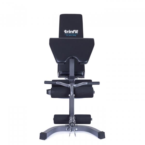 Posilovací lavice na jednoručky TRINFIT Vario LX4 zpředu