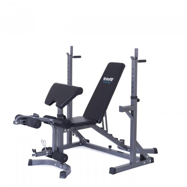 Posilovací lavice na bench press Trinfit set RX10 bez činky