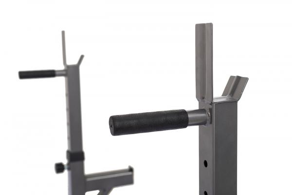 Posilovací lavice na bench press TRINFIT Rack HX3 bradla
