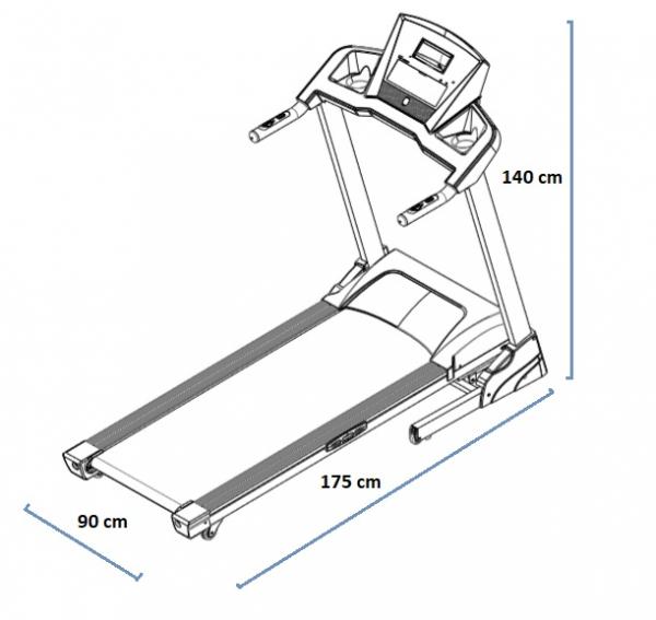 HouseFit SPIRO 20 rozměry trenažéru