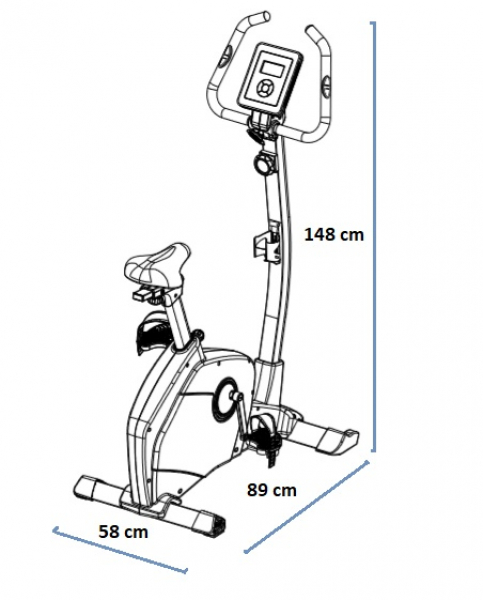 Rotoped HouseFit Tiro 50 rozměry trenažéru
