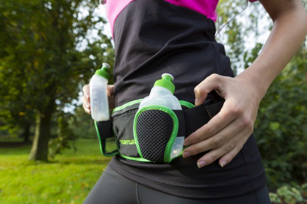 Sportovní ledvinka TUNTURI Running belt workout 1