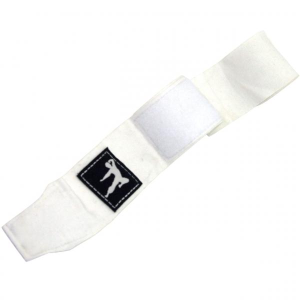 Boxovací bandáže 250 cm BRUCE LEE bílé