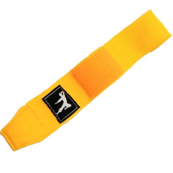 Boxovací bandáže 250 cm BRUCE LEE žluté