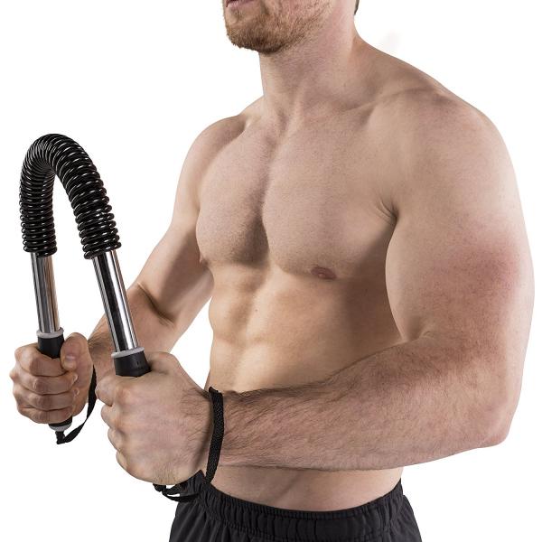 Posilovací ohýbací tyč TUNTURI Power Twister workout