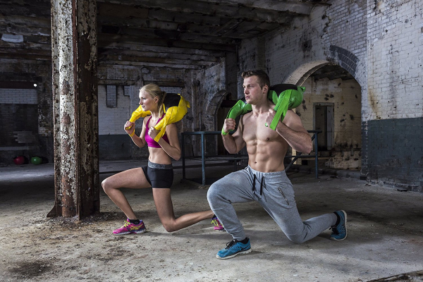 Posilovací vak Bulgarian bag TUNTURI workout