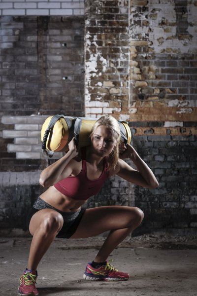 Zátěžový vak Strengthbag TUNTURI workout 2