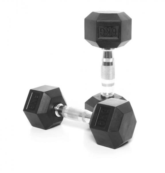 Jednoruční činka HEXA 6 kg