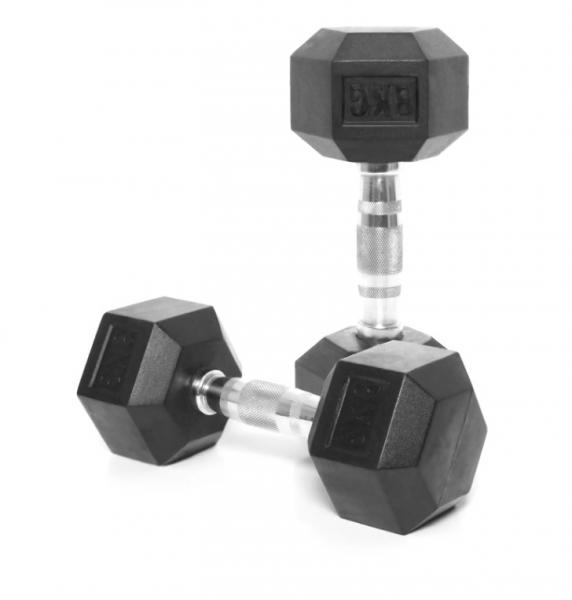 Jednoruční činka HEXA 8 kg