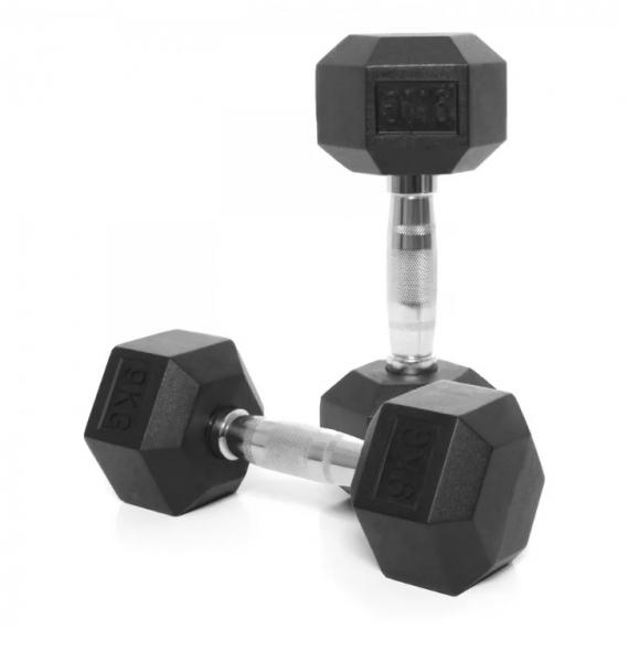 Jednoruční činka HEXA 9 kg