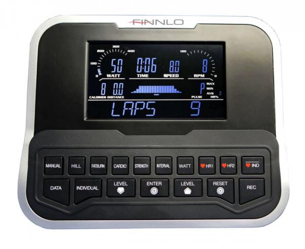Rotoped FINNLO EXUM XTR - počítač