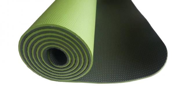 Jóga podložka TPE Profi zelená tmavě zelená