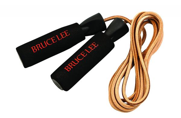 Švihadlo kožené se zátěží BRUCE LEE Deluxe