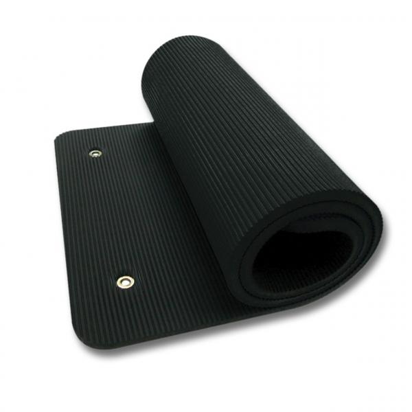 Podložka na cvičení TPE Profi 140 cm TUNTURI černá zarolovaná