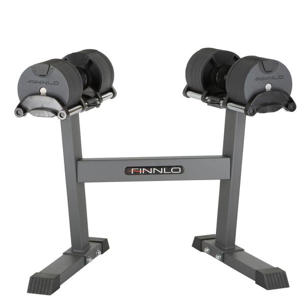 Činky jednoručky FINNLO Smartlock Hantel-Set stojan