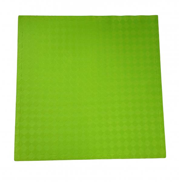 Tatami Taekwondo 100 x 100 x 2 cm zelená strana