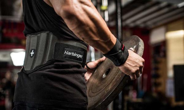 Fitness opasek nylonový HARBINGER FirmFit kotouč