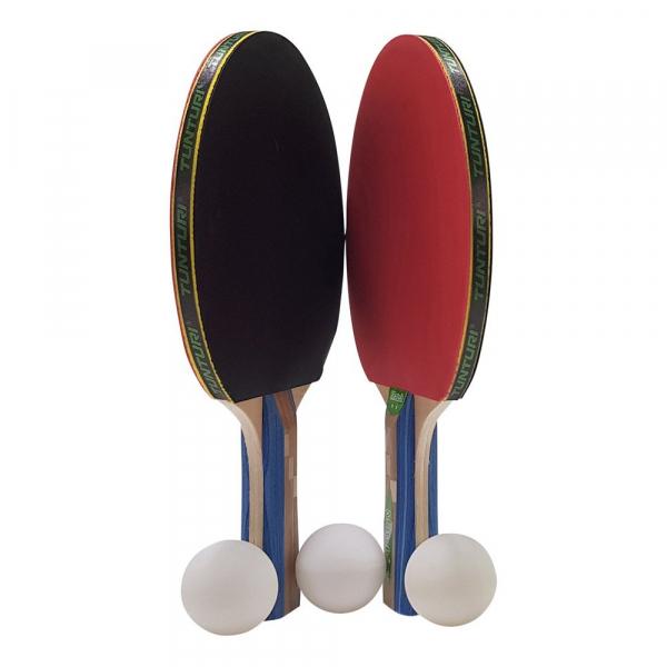 Set pálek a míčků Match TUNTURI pálky míčky