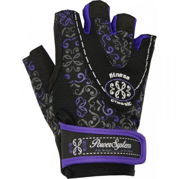 Dámské fitness rukavice POWER SYSTEM Classy modré