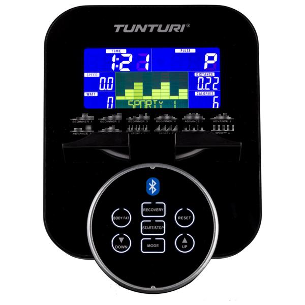 Eliptický trenažér TUNTURI FitCross 50i  počítač