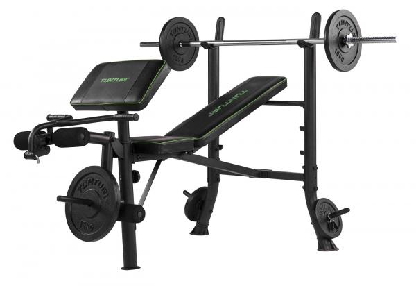 Posilovací lavice na bench press TUNTURI WB40 Compact Width Weight Bench lavice