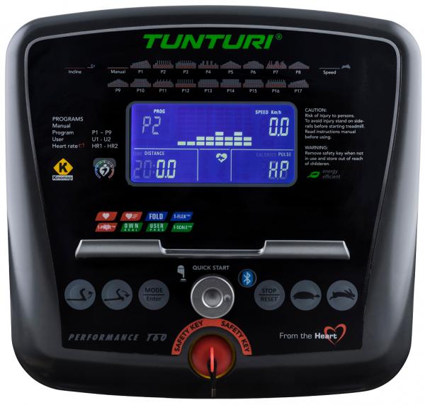 Běžecký pás TUNTURI T60 Treadmill Performance pc