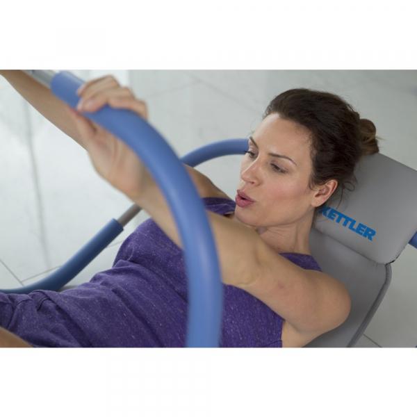 Ab Roller Basic KETTLER modrý workout 2