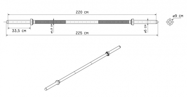 BAR LONG MF-G004 parametry