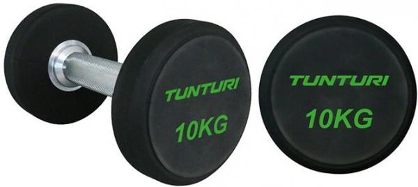 Sada jednoručních činek TUNTURI Pro 34-42 kg (5 párů)