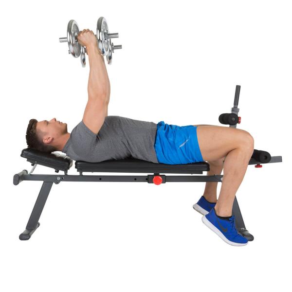 Posilovací lavice na břicho Hammer 4516 AB Bench Perform One rozpažky