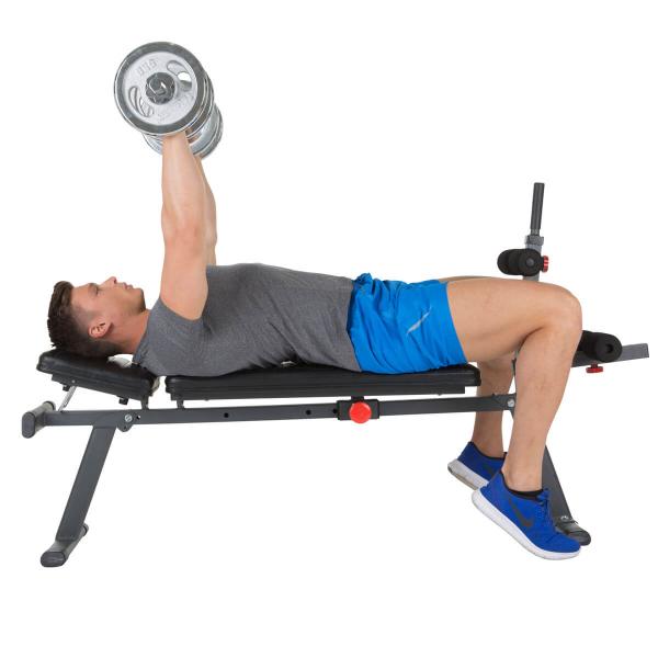 Posilovací lavice na břicho Hammer 4516 AB Bench Perform One tlaky na prsa