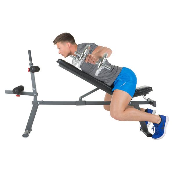 Posilovací lavice na břicho Hammer 4516 AB Bench Perform One zadní ramena