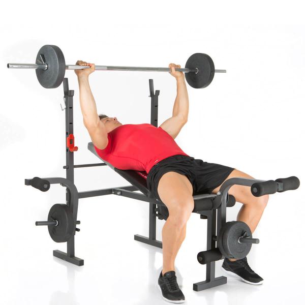 Posilovací lavice na bench press Hammer Bermuda bench 2