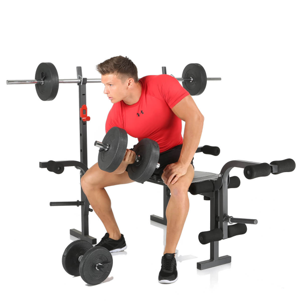 Posilovací lavice na bench press Hammer Bermuda biceps