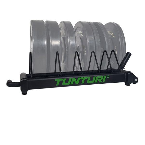 Odkládací stojan na kotouče BUMPER Plate TUNTURI s kotouči 2