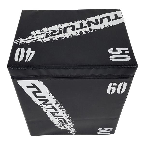 Plyometrická bedna TUNTURI Plyo Box Soft vršek