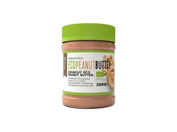HEALTHYCO Eco Peanut Butter 350 g crunchy