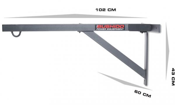 Nástěnný držák na boxovací pytel do 350 kg DBX BUSHIDO 2