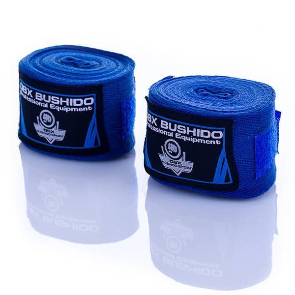 Boxerské omotávky - bandáže DBX BUSHIDO modré