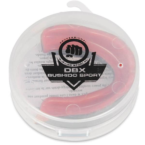 Chránič zubů gelový DBX BUSHIDO černo-červený krabička