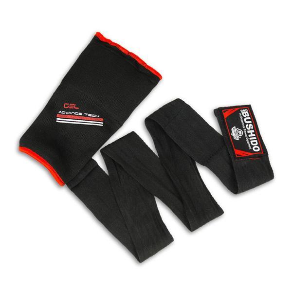 Gelové rukavice DBX BUSHIDO červené single