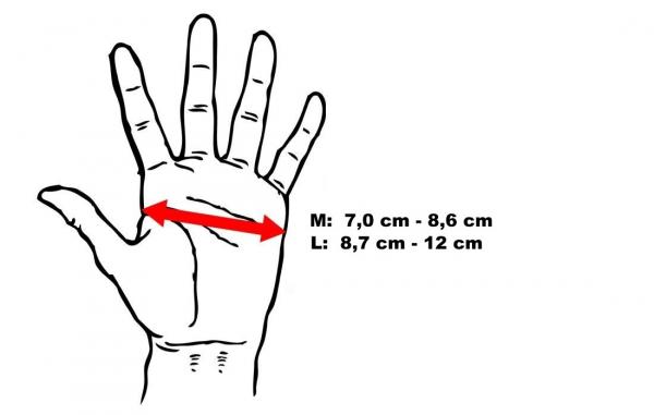 Gelové rukavice DBX BUSHIDO velikosti