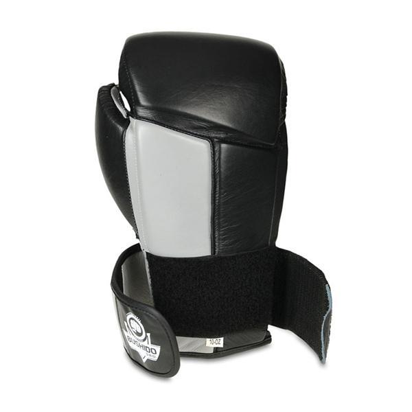 Boxerské rukavice kožené DBX BUSHIDO ARB-431 šedé omotávka